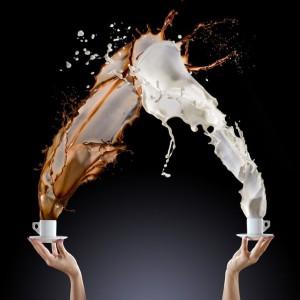 как взбить молоко для латте
