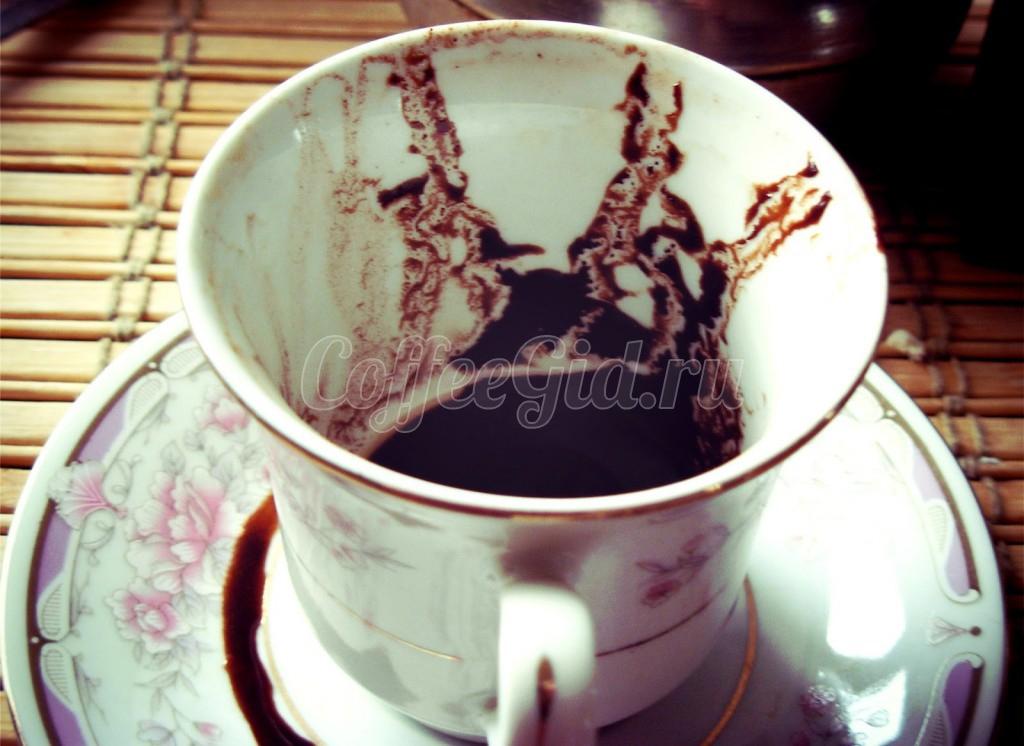 трактовка гадания на кофе