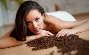 антицелюллитный скраб из кофе
