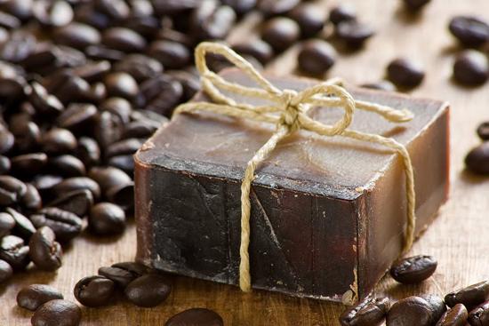 домашнее мыло с кофе