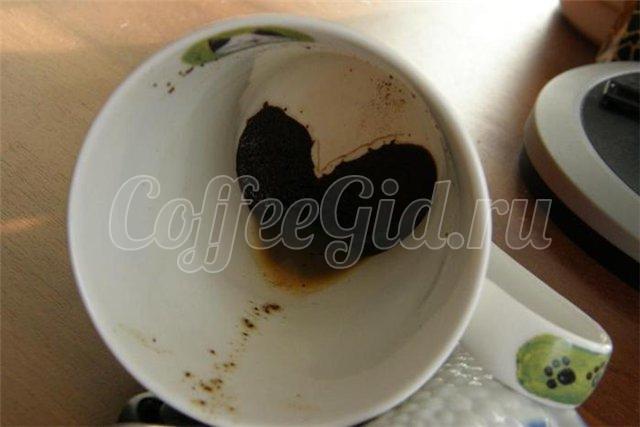 гадание на кофе значение сердце