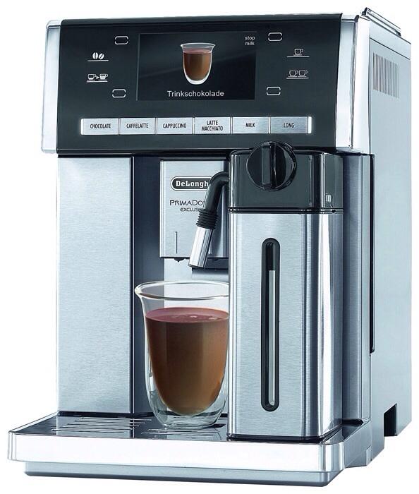 горячий шоколад в кофемашине