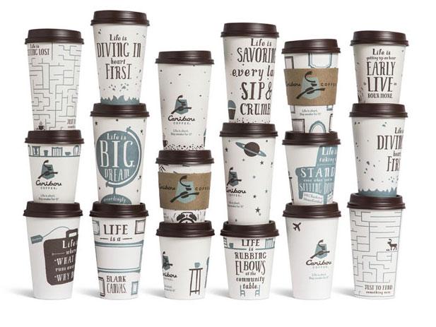 Бумажные кофейные стаканы