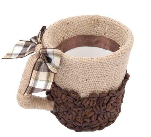 чашка из кофе и шпагата