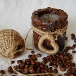 поделки из кофе и шпагата