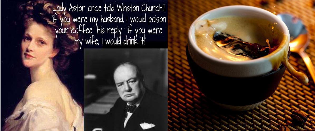 Черчилль и леди Астор