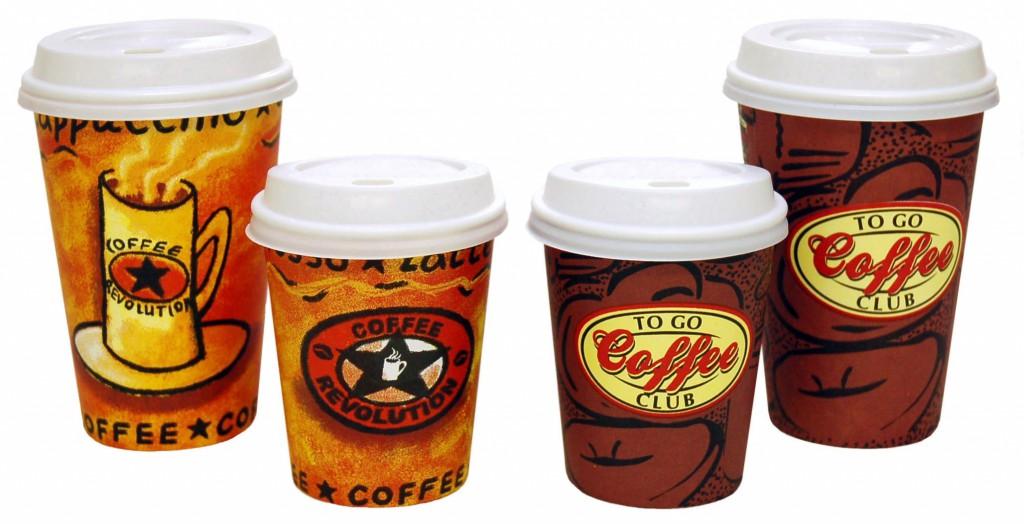 картонные стаканчики под кофе