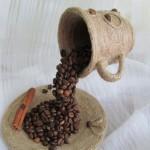Перевернутая кружка с кофе своими руками 16