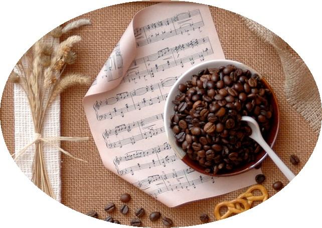 панно из кофе