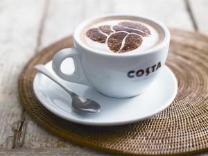 трафарет на кофе