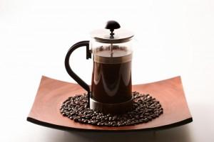кофе во френч-прессе