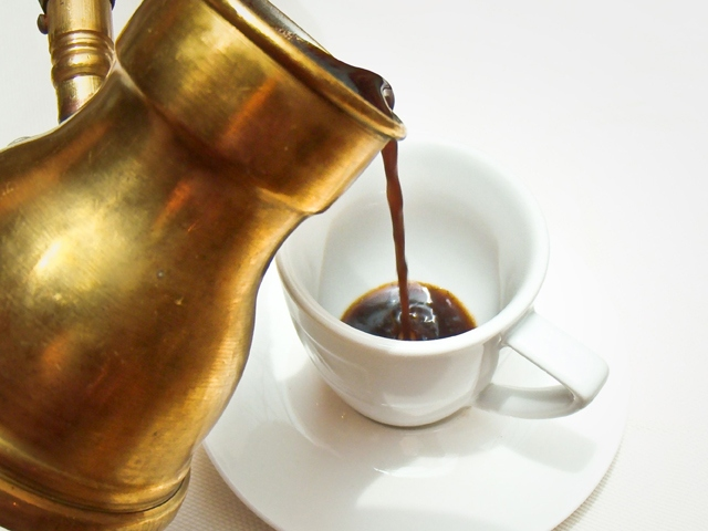 кофе в турке Гипфел