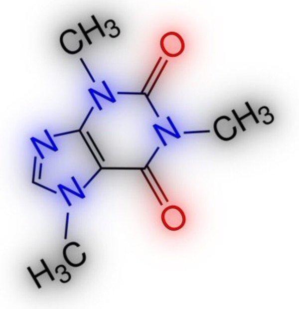 формула кофеина