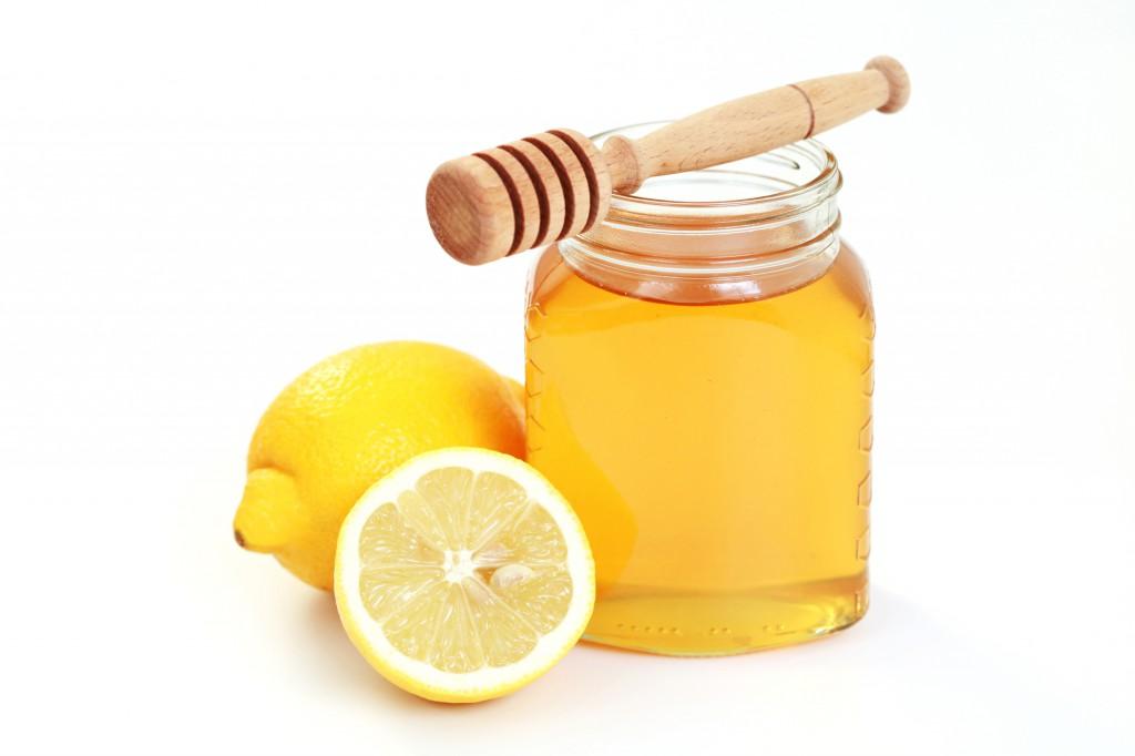 мед и лимон для кофе