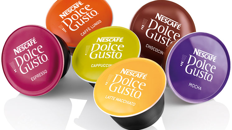 kapsuly Dolce Gusto